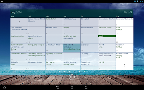 Business Calendar Pro Screenshot 16