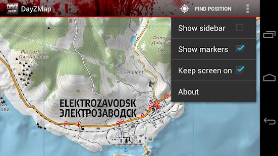 DayZ Map - screenshot thumbnail