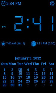 AdyClock - Night clock, alarm- screenshot thumbnail