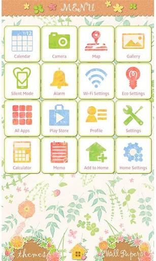 Flower Wallpaper Green Leaf 1.0 Windows u7528 3