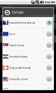 VKonvertor - konvertor valuta- screenshot thumbnail