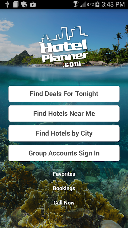 HotelPlanner.com Hotel Deals- screenshot