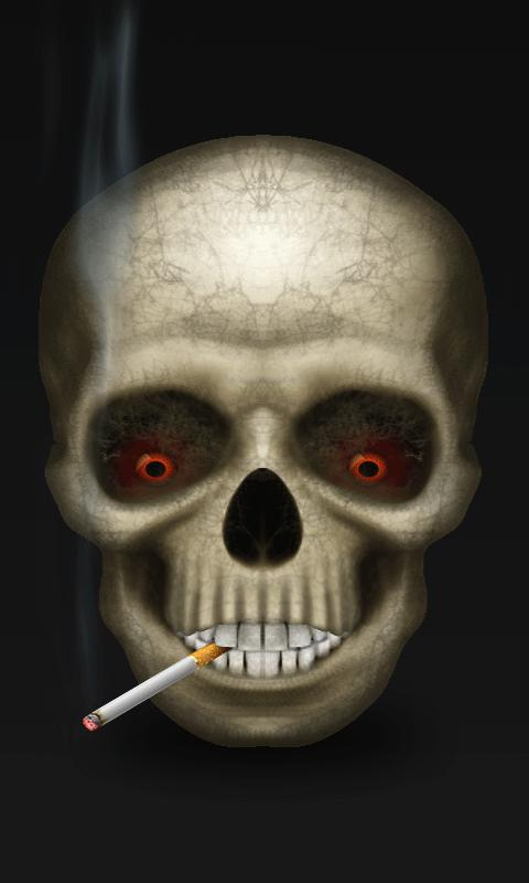 Smoking Skull Live Wallpaper - Android Apps on Google Play