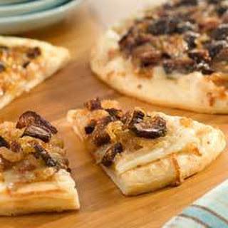 Caramelized Onion & Fig Mini Pizzas