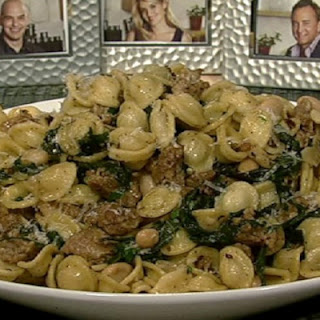 Michael Symon's Orecchiette with Sausage & Swiss Chard