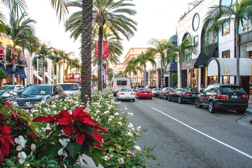 rodeo-drive-beverly-hills-los-angeles - Rodeo Drive in Beverly Hills, California.