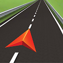 GPS Navigation BE-ON-ROAD mobile app icon