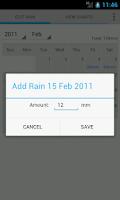 Screenshot of Rain Recorder