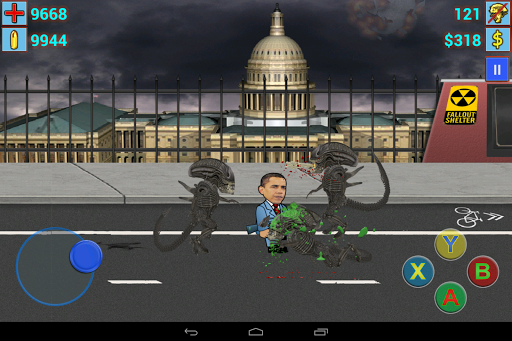 Aliens vs. President II