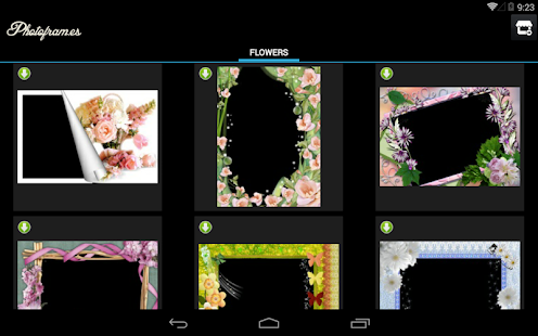 Flowers PhotoFrames Screenshot 8