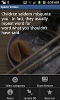 Screenshot of Spam Fortune Lite