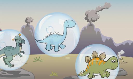 玩免費教育APP|下載恐龍的氣泡為孩子 ! app不用錢|硬是要APP