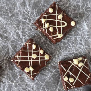 White Chocolate Espresso Brownies.