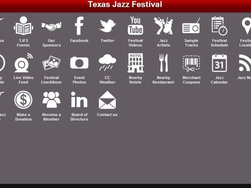 【免費娛樂App】Texas Jazz Festival-APP點子