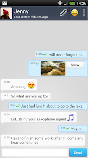 ShoutMe - Free Messenger- screenshot thumbnail