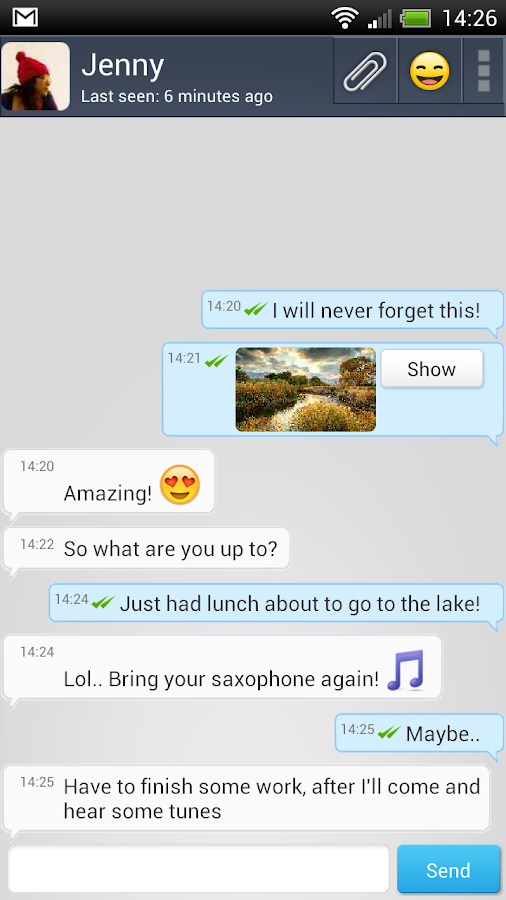 ShoutMe - Free Messenger- screenshot