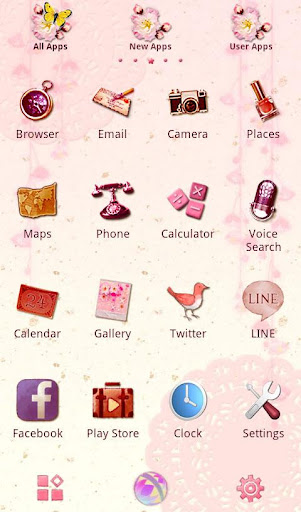 Colorful Theme Precious Pinks 1.0.2 Windows u7528 2
