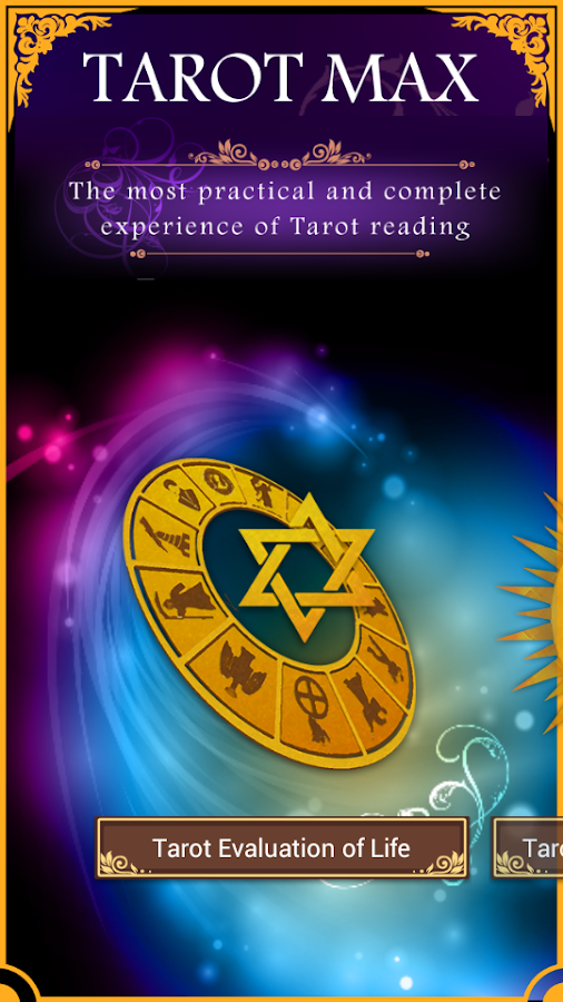 Tarot MAX- screenshot