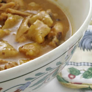Southern Style Chicken and Dumplings.