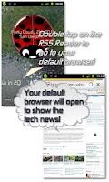 Screenshot of Lucky Ladybug w/RSS Feed LWP