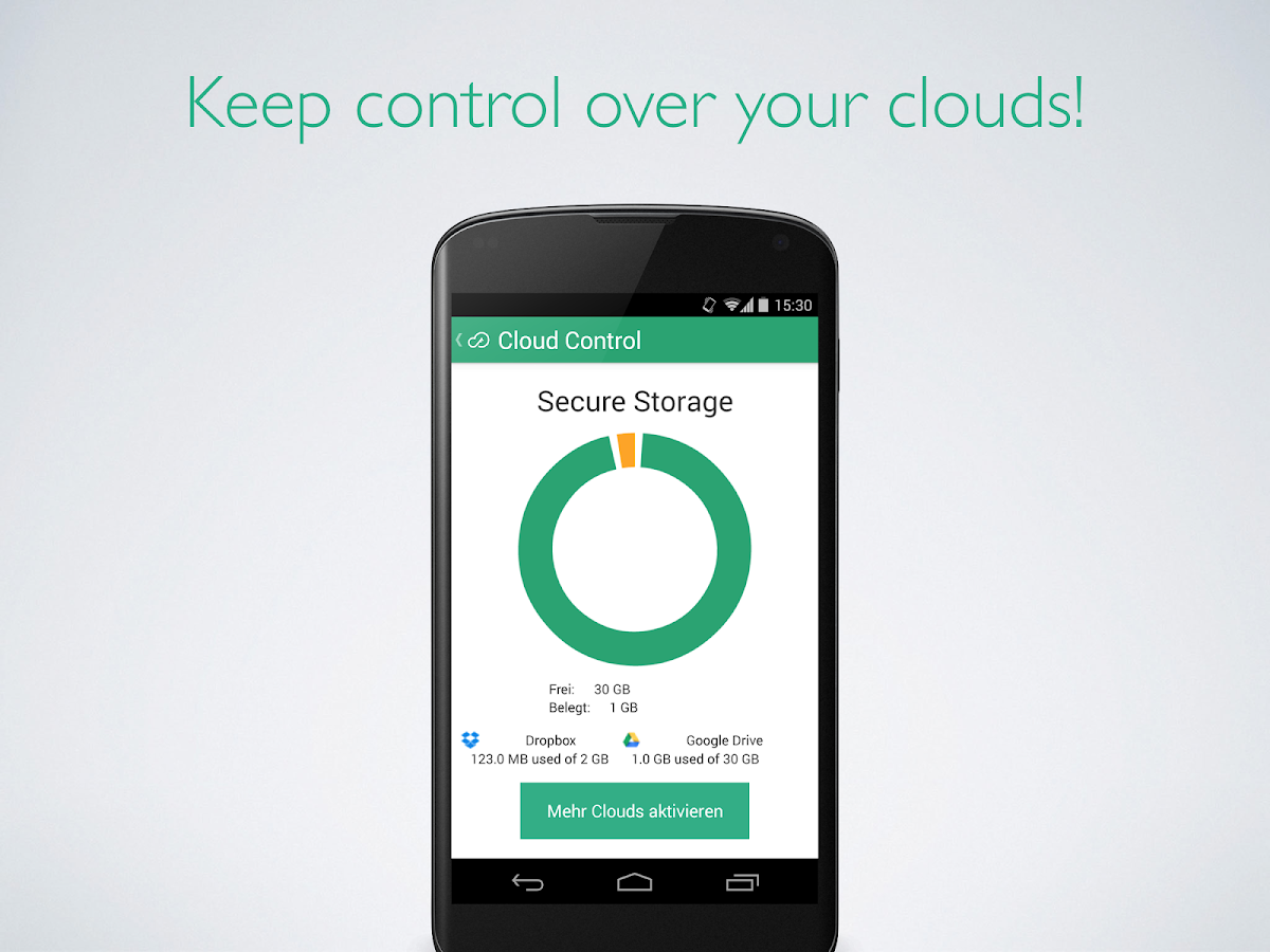 SecureBeam - control the cloud- screenshot