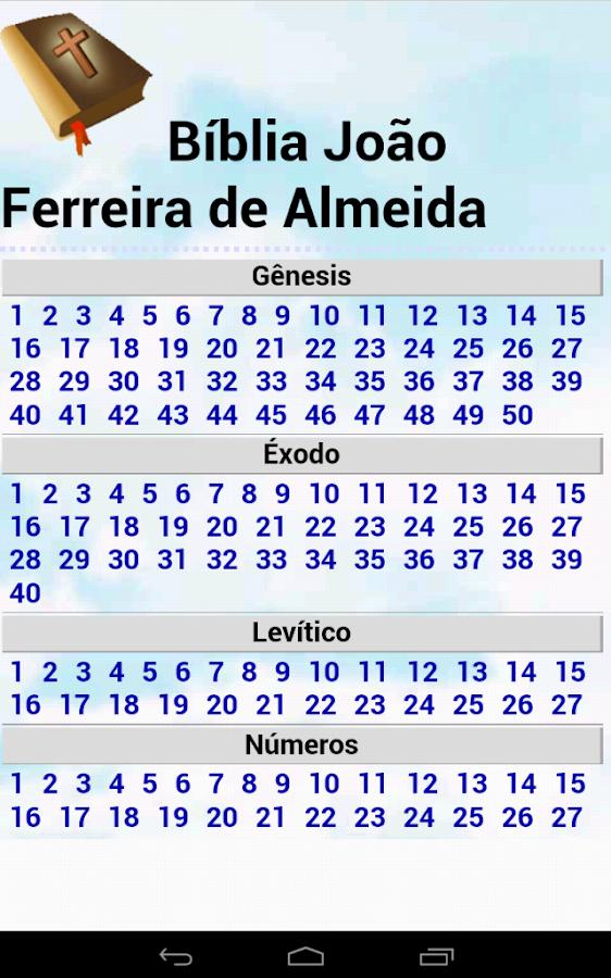 Bíblia João Ferreira d Almeida - screenshot