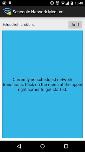Network Scheduler