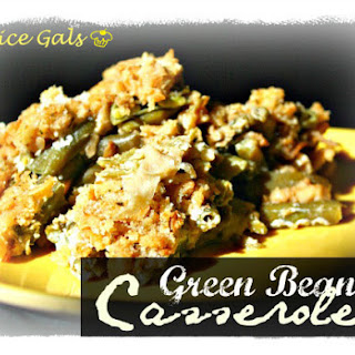 Not your Ordinary Green Bean Casserole