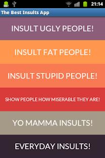 Best Insults And Angry Sayings - screenshot thumbnail