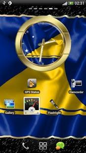Tokelau flag clocks - screenshot thumbnail
