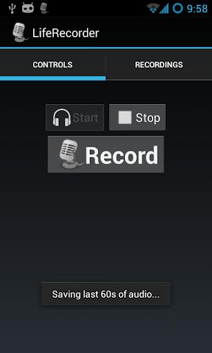 LifeRecorder: NonStop Recorder