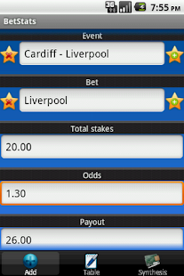 BetStats - Sports Bet Tracker- screenshot thumbnail