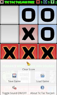 Tic Tac Toe Jam Free - screenshot thumbnail