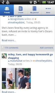 LiveJournal 1.0 - screenshot thumbnail