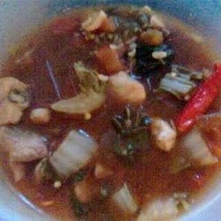Fish Sinigang (Tilapia) - Filipino Sour Broth Dish.