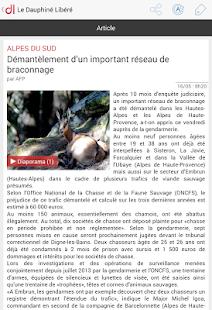 Le Dauphiné Libéré- screenshot thumbnail