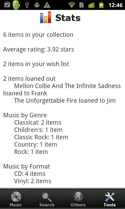 My Music Organizer Pro- screenshot
