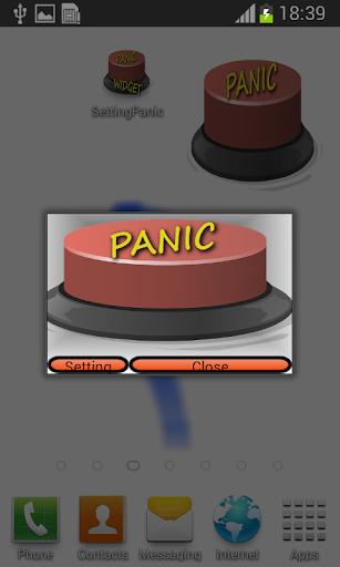 先進的恐慌按鈕控件