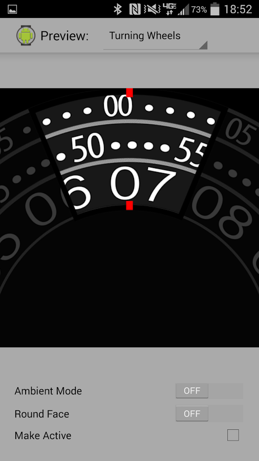 Wear Watch Faces - screenshot