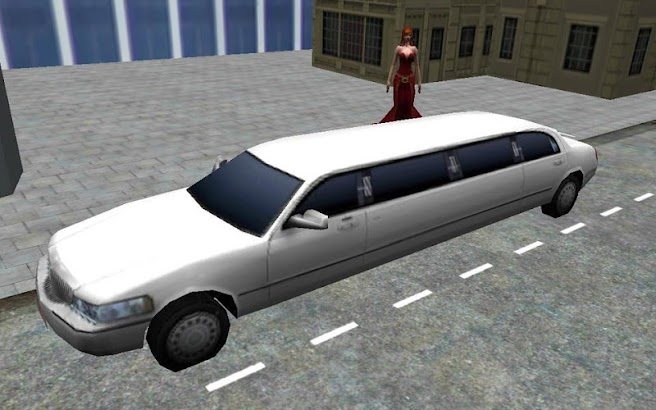 Limousine 3D Driver Simulator screenshot