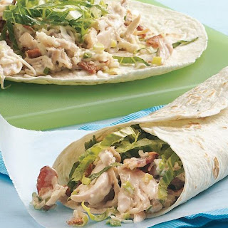 Chicken-Bacon-Ranch Wraps.