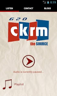 620 CKRM - screenshot thumbnail