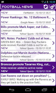 Baltimore Football News - screenshot thumbnail