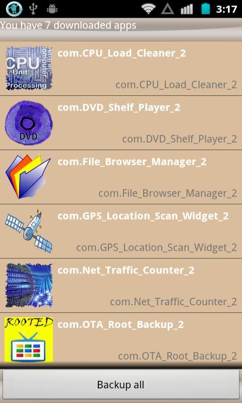 File Browser Manager - screenshot