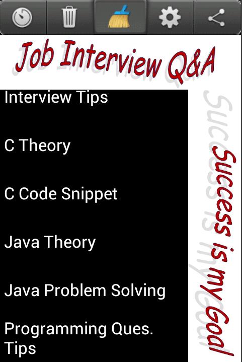 C Java Interview Cracker - screenshot