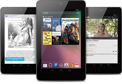 Nexus 7 was built for Google Play