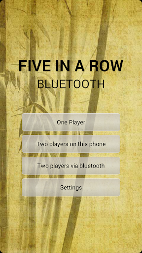 Five in a row Bluetooth