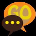 GO SMS THEME SEVENTIES logo
