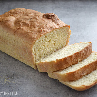 No Knead English Muffin Bread