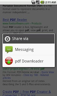 PDF Downloader - screenshot thumbnail
